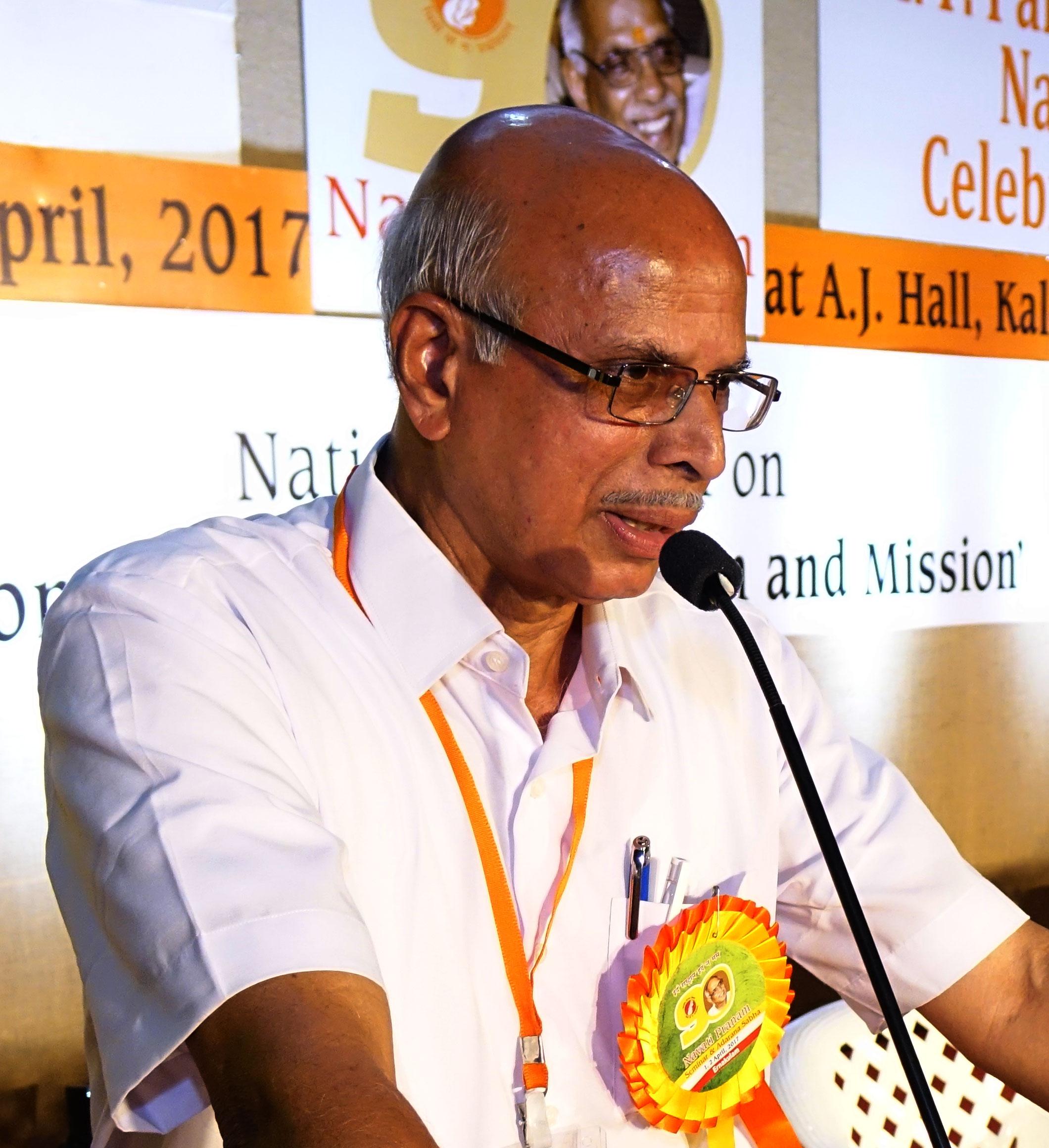 Dr. M .MOHAN DAS